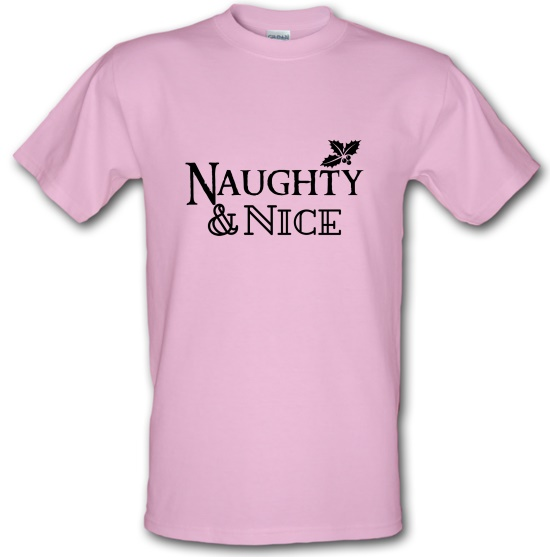 Naughty and Nice t shirt