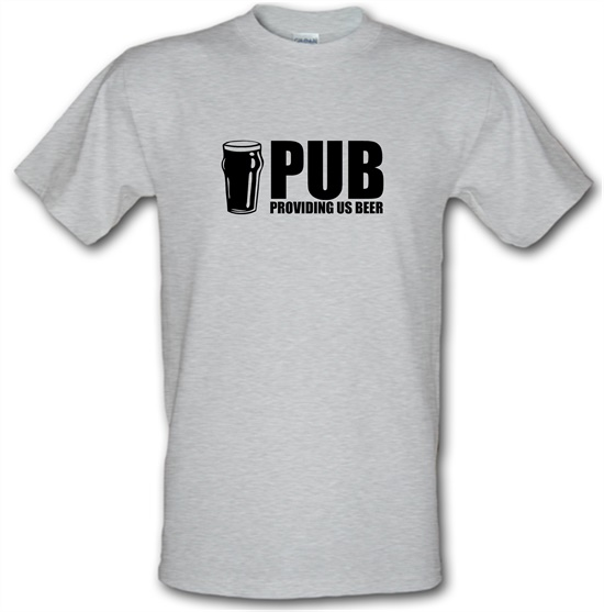 PUB : Providing Us Beer t-shirts