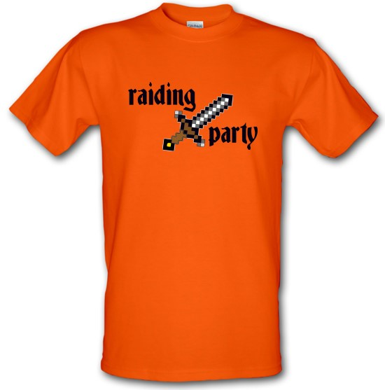 Raiding Party t-shirts