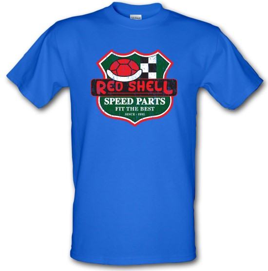 Red Shell Parts t-shirts