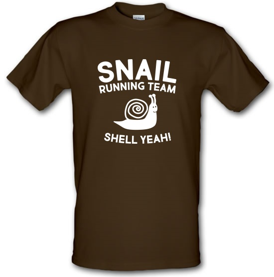 Snail Running Team t-shirts