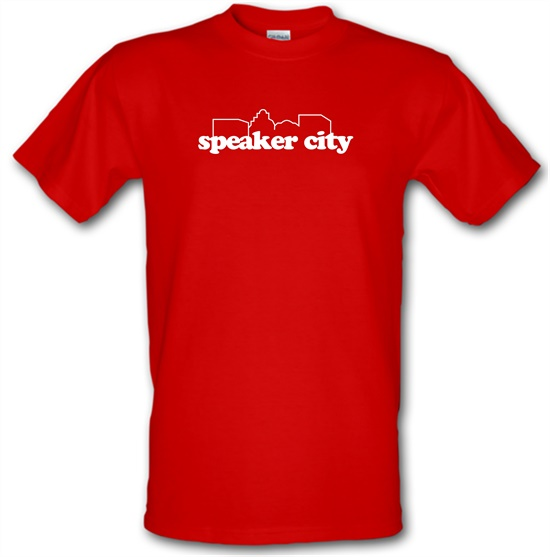 Speaker City t-shirts