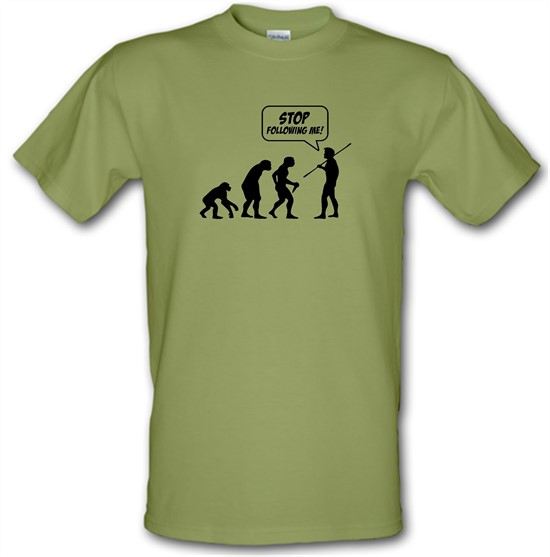Stop Following Me! t shirt
