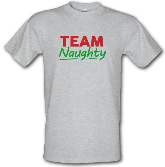 Team Naughty t-shirts
