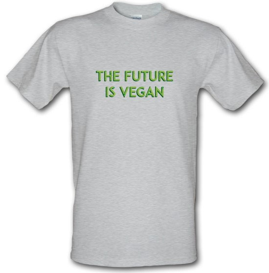The Future Is Vegan t-shirts
