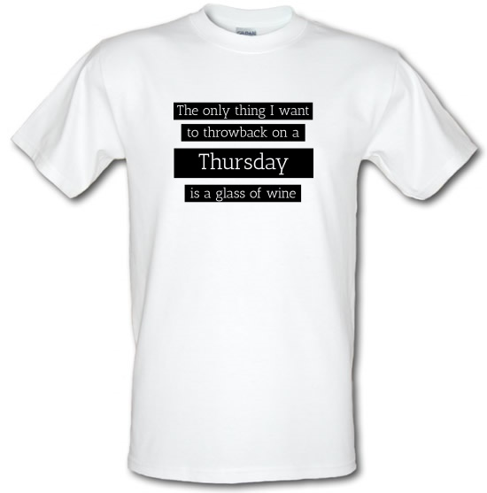 Throwback Thursday t-shirts
