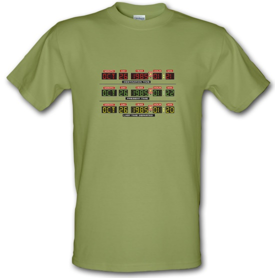 Time Machine Circuits t shirt