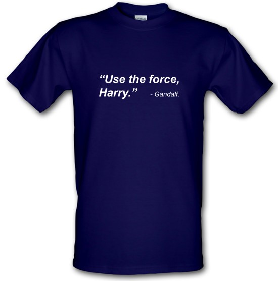 Use The Force Harry t-shirts