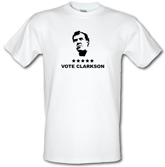 Vote Clarkson t shirt