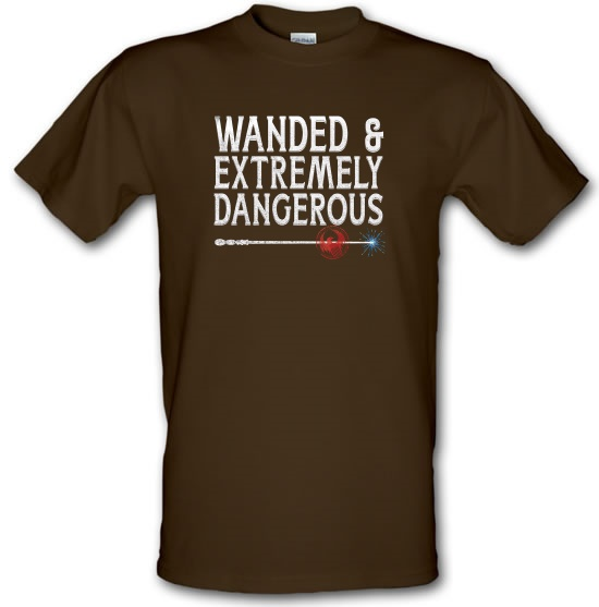 Wanded & Extremely Dangerous t-shirts