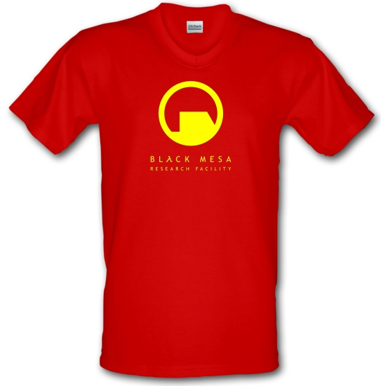 Black Mesa Research Facility V-Neck T-Shirts
