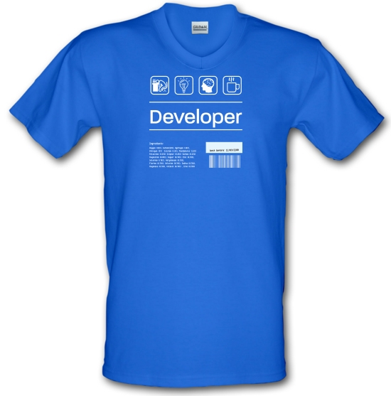 Developer Ingredients V-Neck T-Shirts