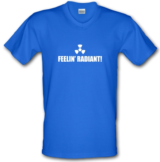 Feelin' Radiant V-Neck T-Shirts