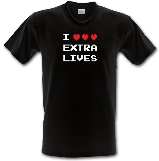 I Heart Extra Lives V-Neck T-Shirts