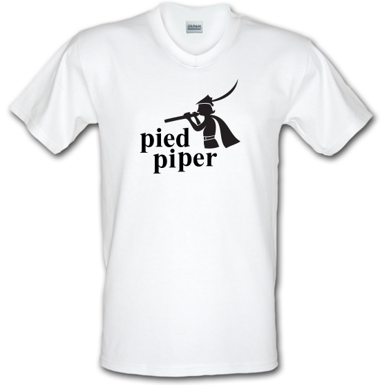 Pied Piper V-Neck T-Shirts