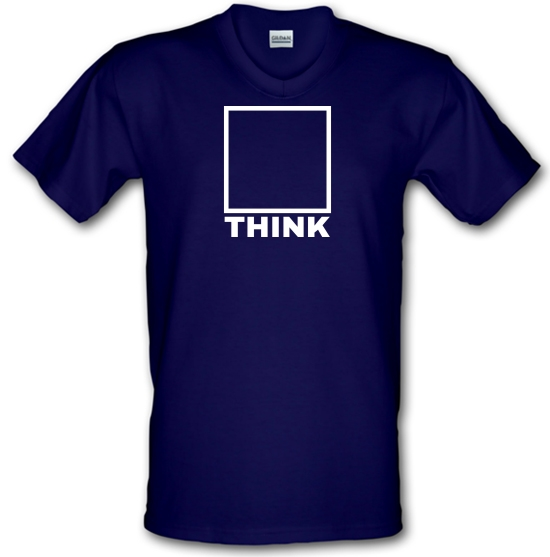 Think Outside The Box V-Neck T-Shirts