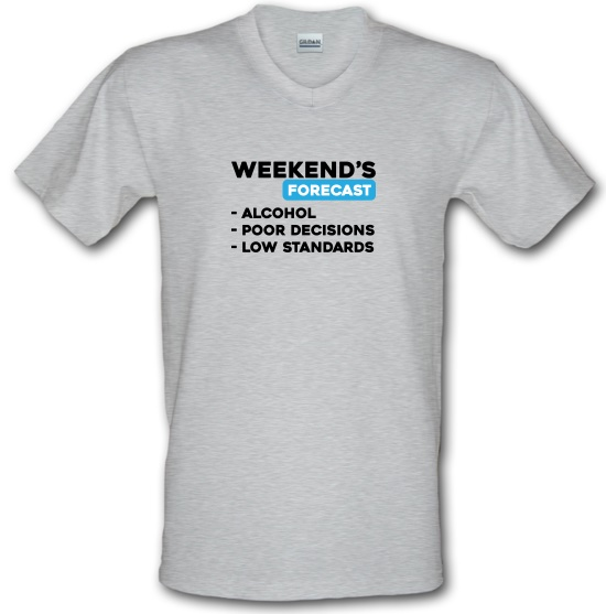 Weekends Forecast V-Neck T-Shirts