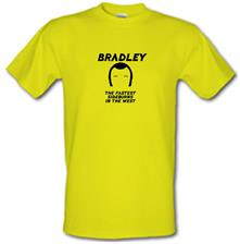 Bradley The Fastest Sideburns In The West t shirt