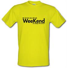 the first five days after the weekend are always the worst t shirt