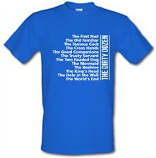 The World's End - List of Pubs t shirt