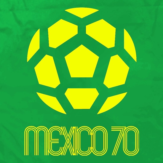1970 World Cup Mexico Apron