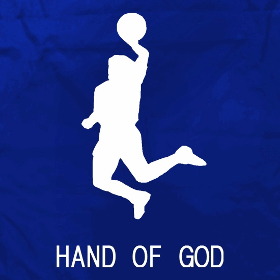 Hand of God Apron