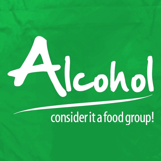 Alcohol - consider it a food group Apron