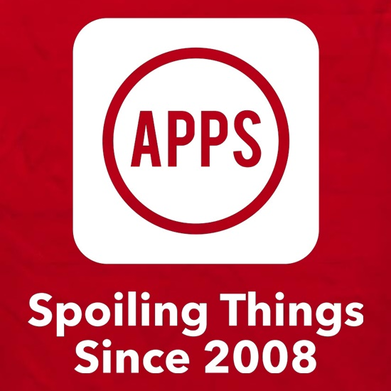 Apps Spoiling Things Since 2008 Apron