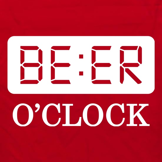 Beer O'Clock Apron