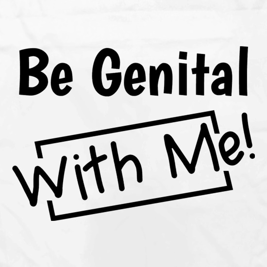 Be genital with me Apron