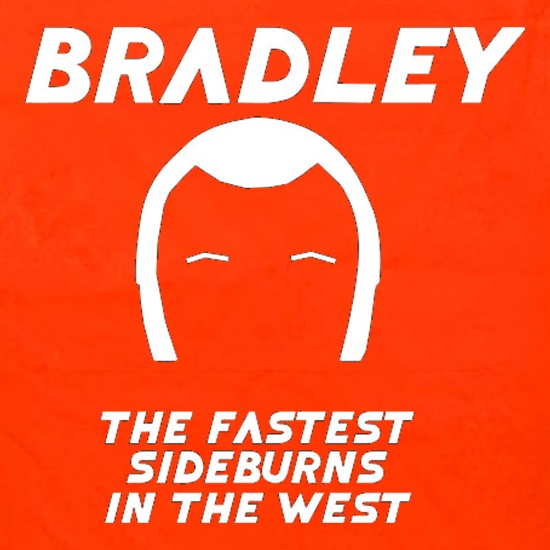 Bradley The Fastest Sideburns In The West Apron