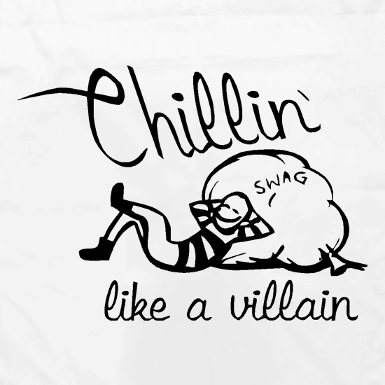 Chillin' like a villain Apron