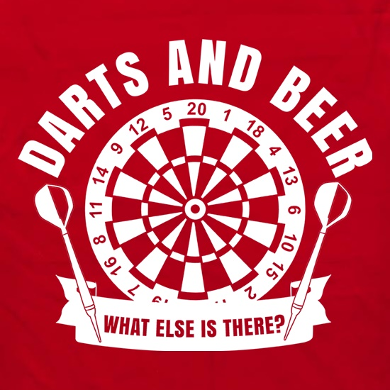 Darts & Beer Apron