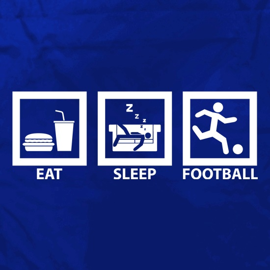 Eat, Sleep, Football Apron