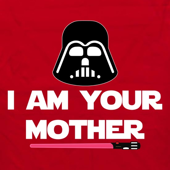 I Am Your Mother Slogan Apron