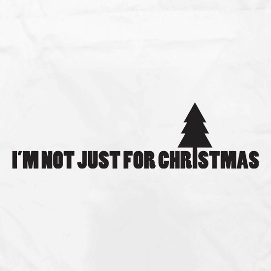 I'm Not Just For Christmas Apron