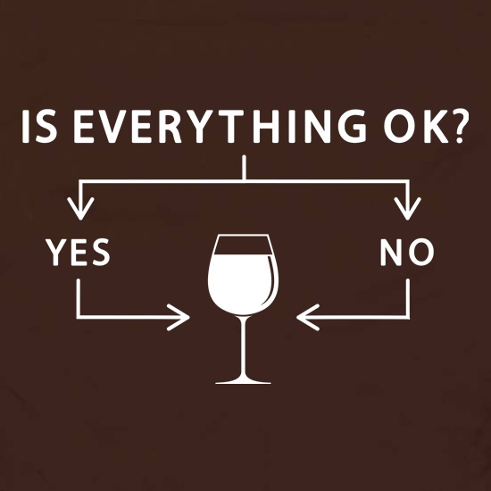 Is Everything Ok? Wine. Apron