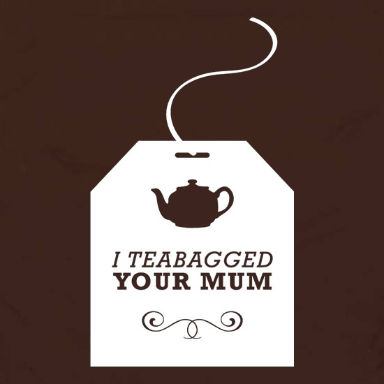I Teabagged Your Mum Apron