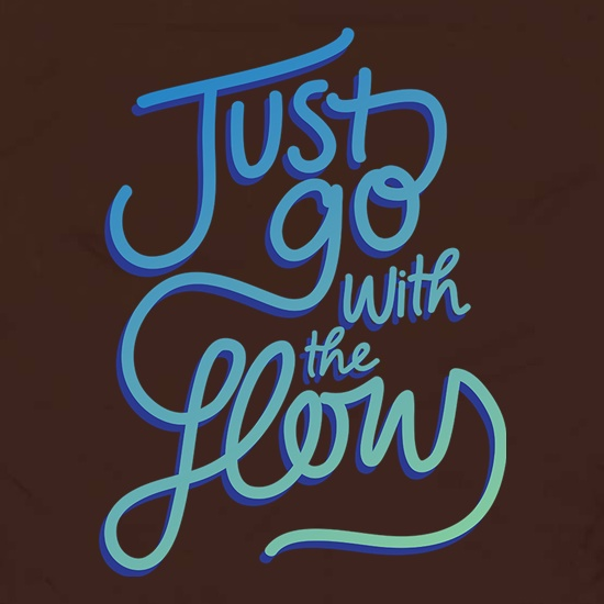 Just Go With The Flow Apron