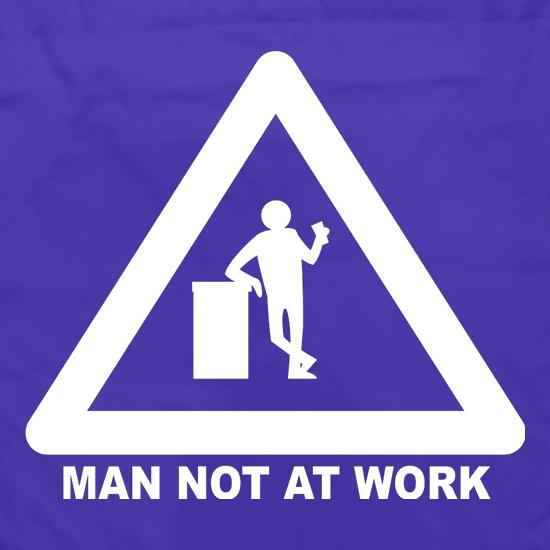 Man Not At Work Apron