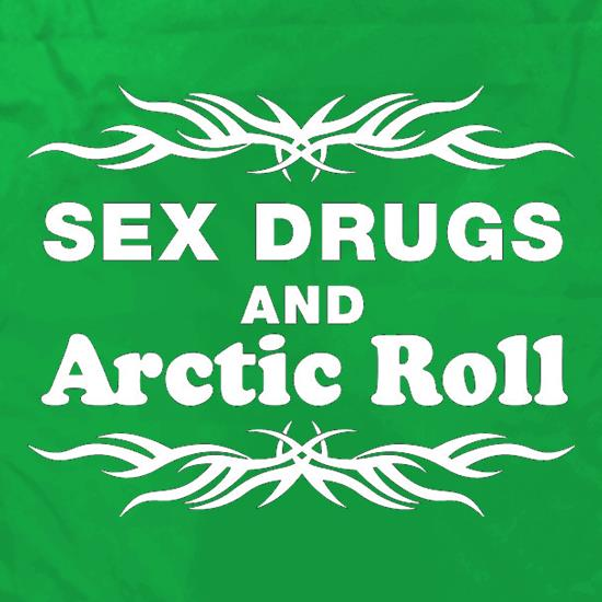 Sex Drugs And Arctic Roll Apron