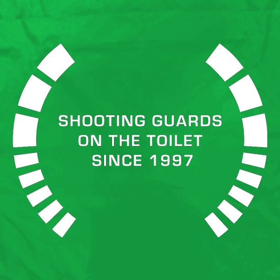 Shooting Guards On The Toilet Since 1997 Apron