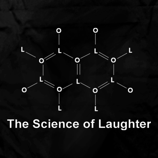 The Science Of Laughter Apron