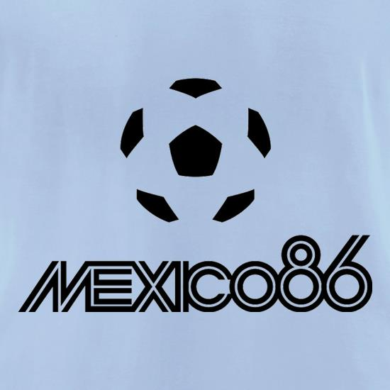 1986 World Cup Mexico t-shirts for ladies