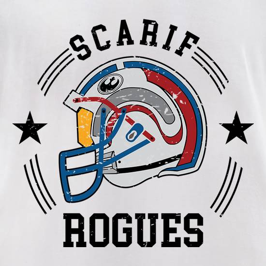 Scarif Rogues t-shirts for ladies