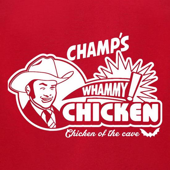 Champ's Whammy Chicken t-shirts for ladies