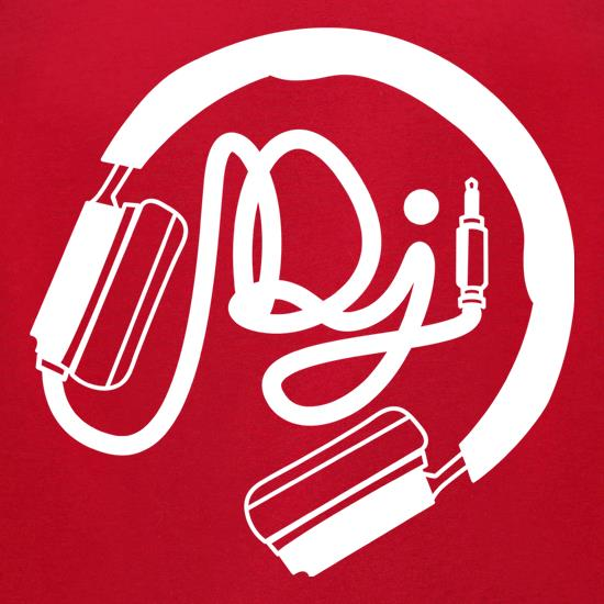 DJ Headphones t-shirts for ladies