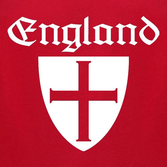England Shield t-shirts for ladies