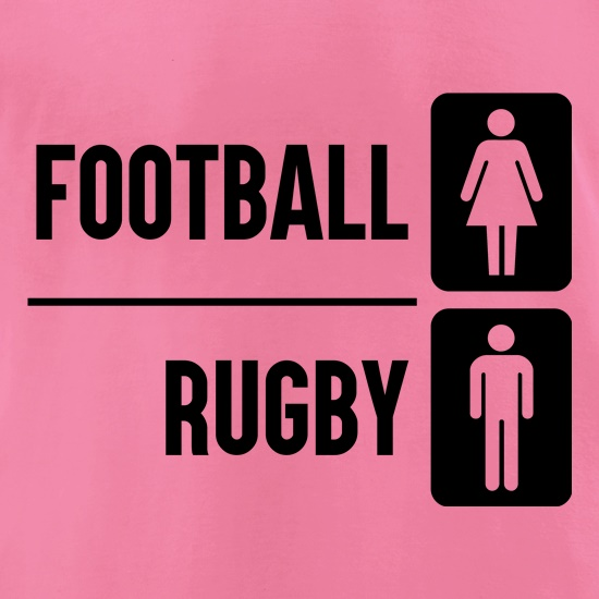 Football Or Rugby t-shirts for ladies