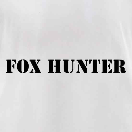Fox Hunter t-shirts for ladies
